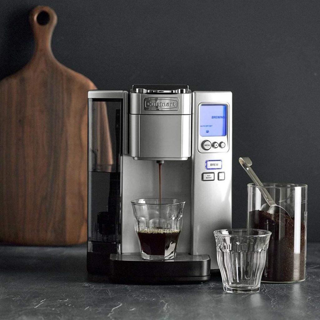 Cuinsart single-serve coffee maker