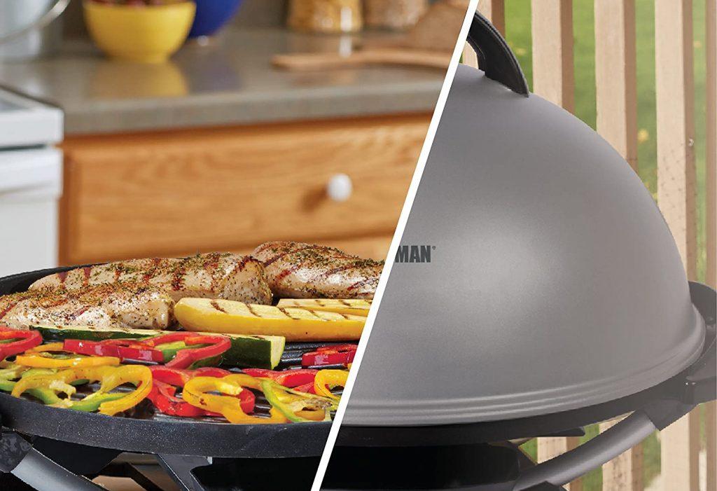 Indoor/outdoor grill