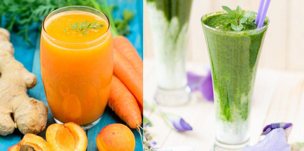 Juice vs. Smoothie