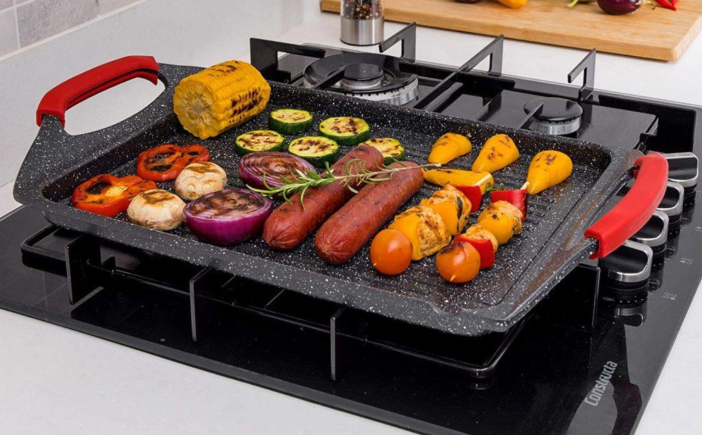 Indoor stovetop grill