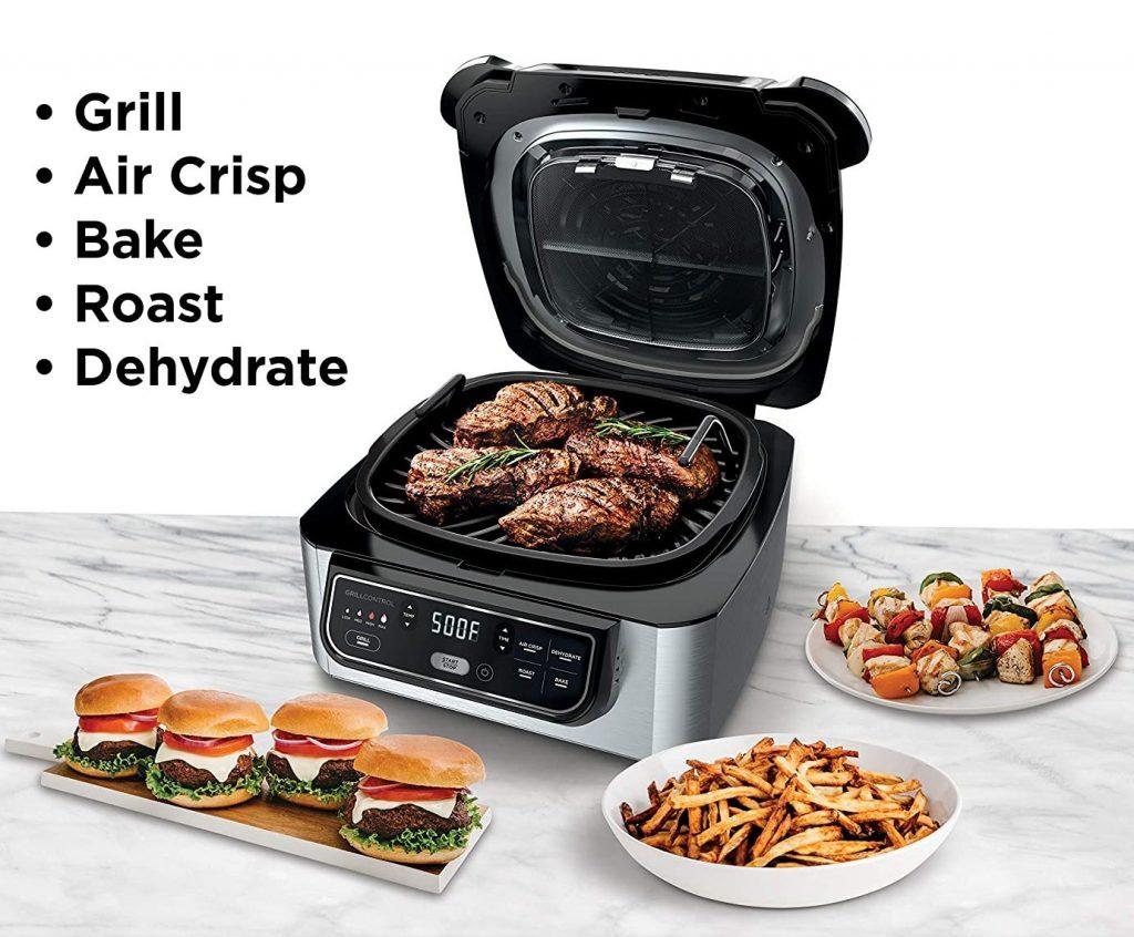 Multipurpose countertop grill