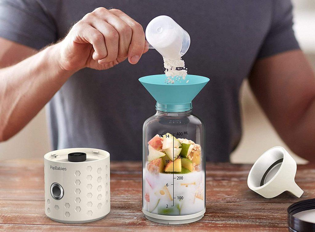 Single-serve portable blender