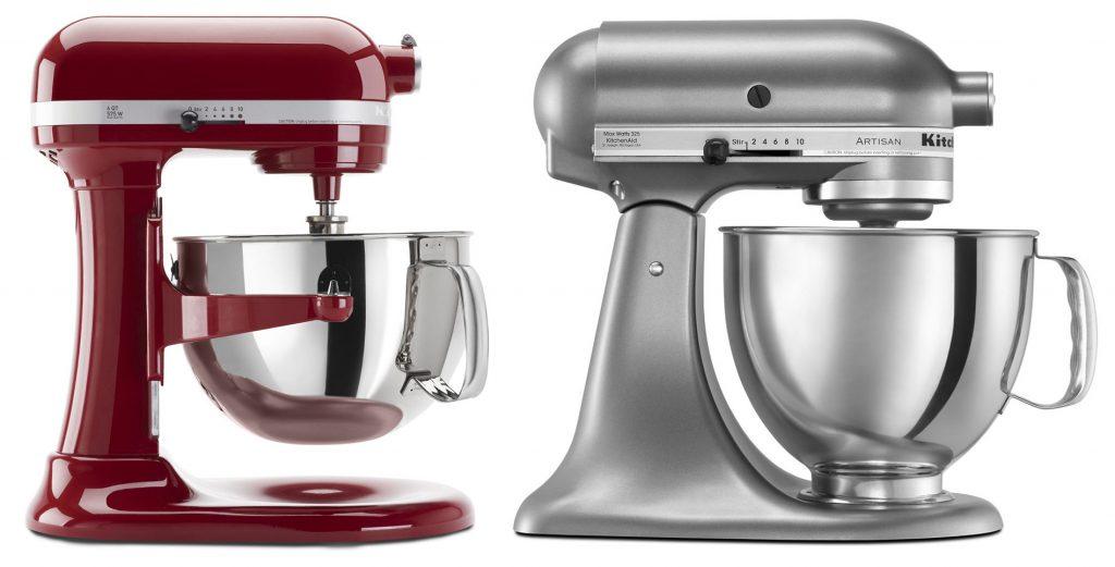 Comparing bowl-lift vs tilt-head stand mixers