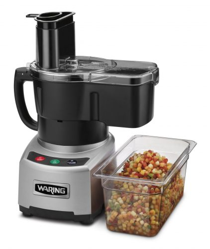 Waring Commercial Sealed Batch Bowl/Continuous Dicing Food Processor