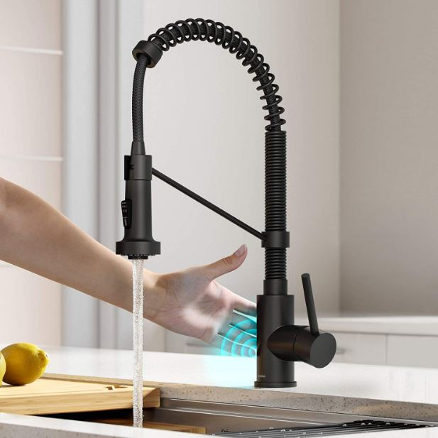 Kraus' Bolden touchless sensor single-handle, pull-down faucet