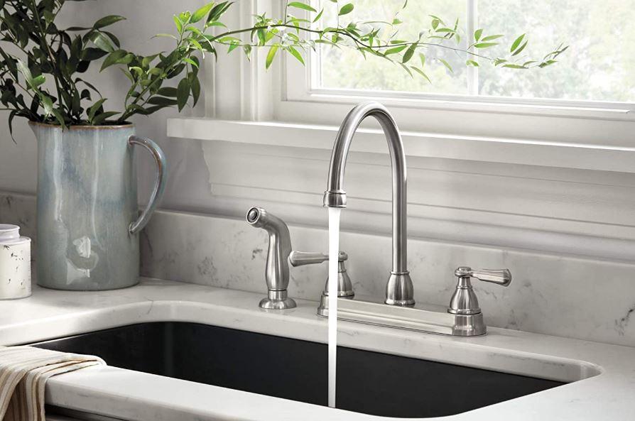 Peerless's Elmhurst Two-Handle Kitchen Faucet