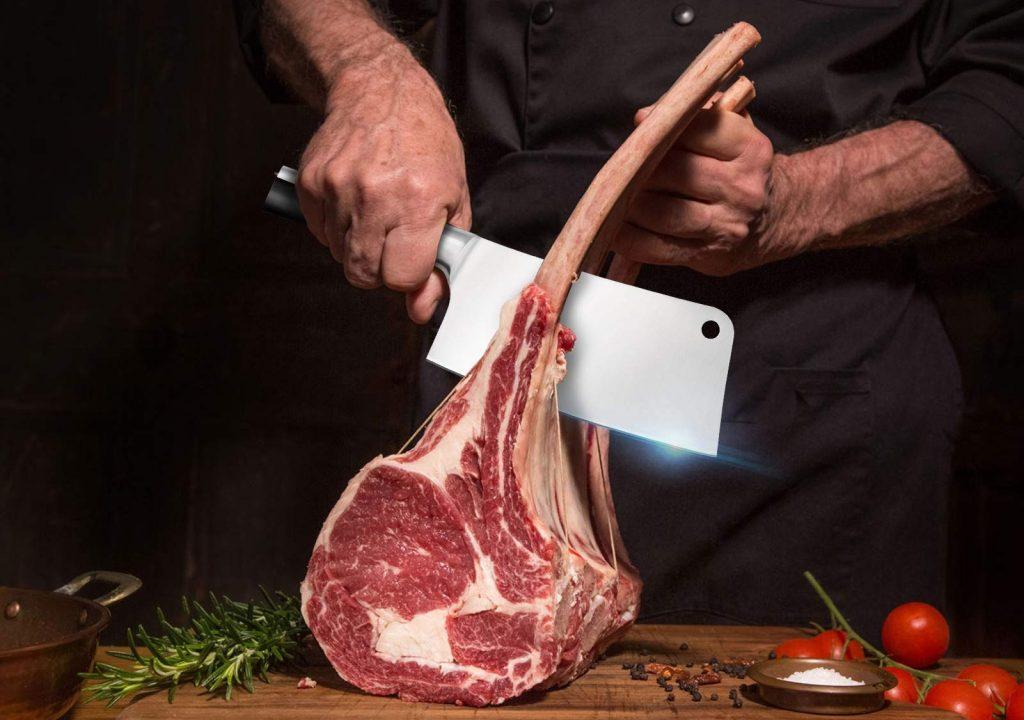 Mueller Austria meat cleaver