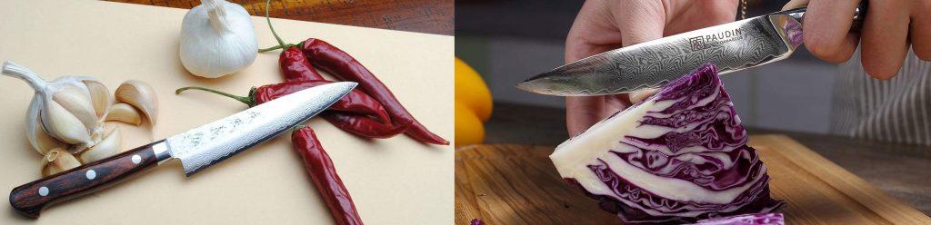 Petty knive vs utility knife