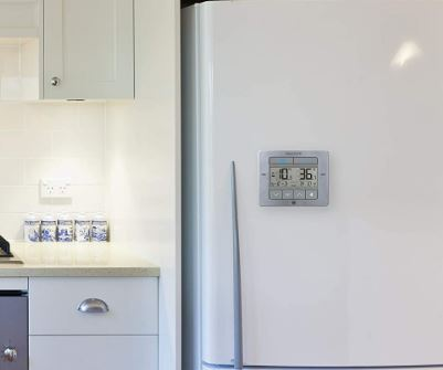 AcuRite's digital refrigerator and freezer thermometer