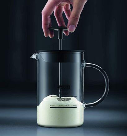 Bodum's Latteo manual milk frother