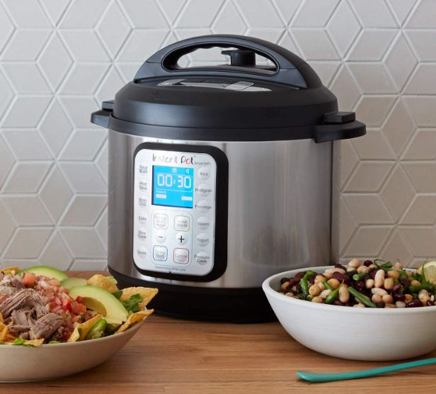 Instant Pot's 8-in-1 Smart WiFi pressure cooker