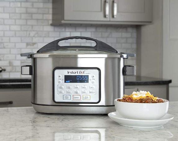 Instant Pot's 8-quart Aura Pro slow cooker with sous vide