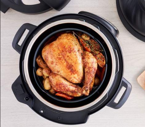 Instant Pot's 8-quart Duo Crisp, an 11-in-1 multicooker