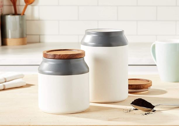 Jamie Oliver's ceramic storage jar