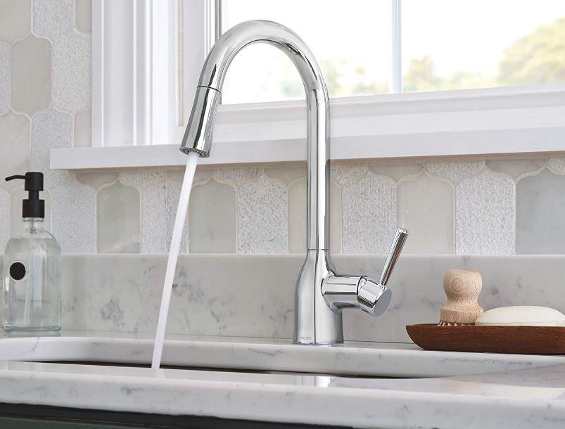 Moen's Adler Pulldown Kitchen Faucet, Chrome