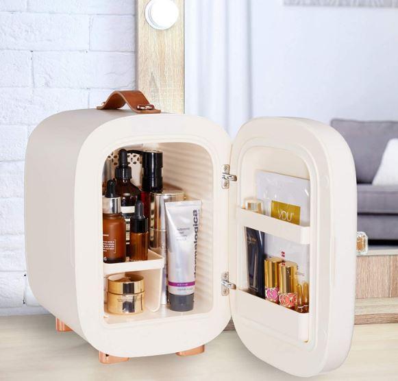 QUBI's professional 5-liter skincare fridge