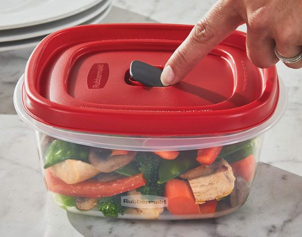Rubbermaid's 8-piece meal prep container pack