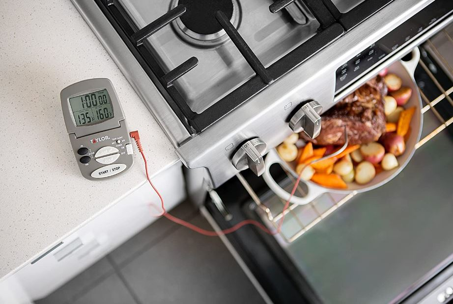 Taylor Precision's digital cooking probe thermometer and timer