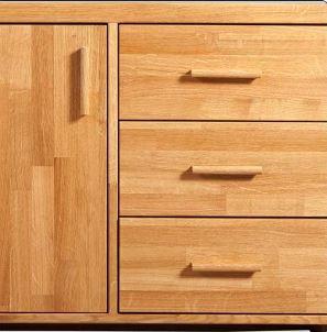 uxcell Cupboard Door Drawer Wood Pull Handles