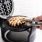 Bella's nonstick, rotating single Belgian waffle maker