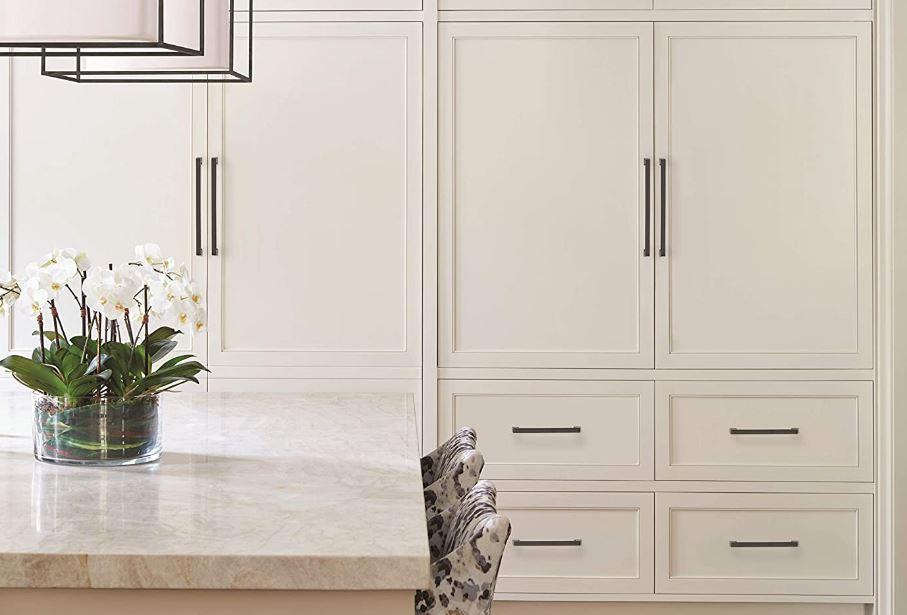Blackrock's center-to-center black bronze appliance pulls