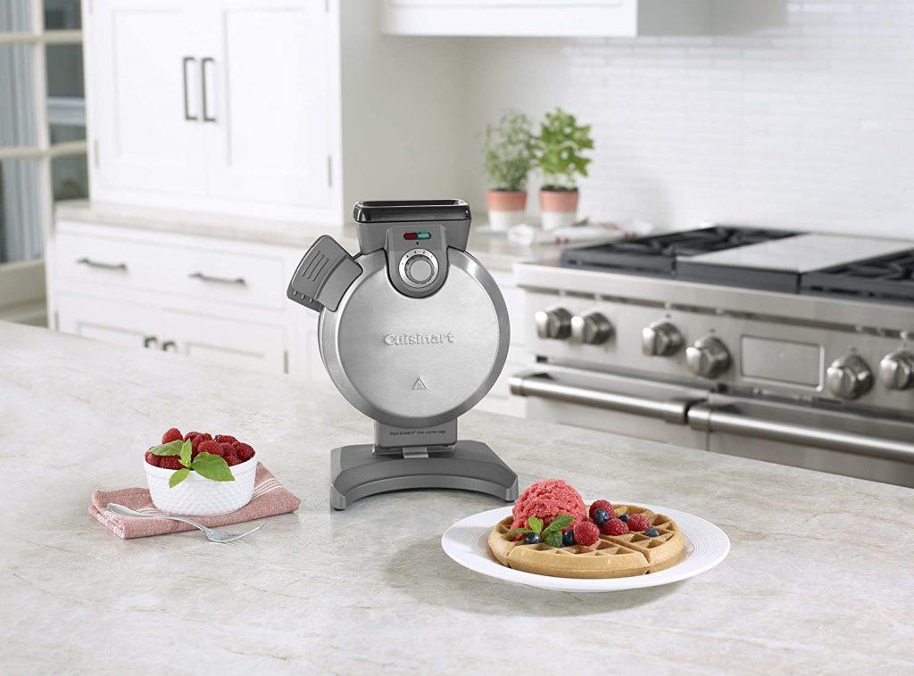 Cuisinart's upright waffle iron