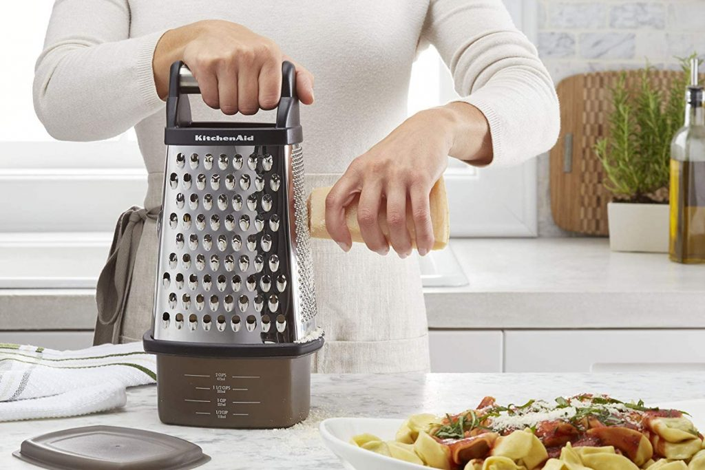 KitchenAid's 4-sided stainless steel box grater