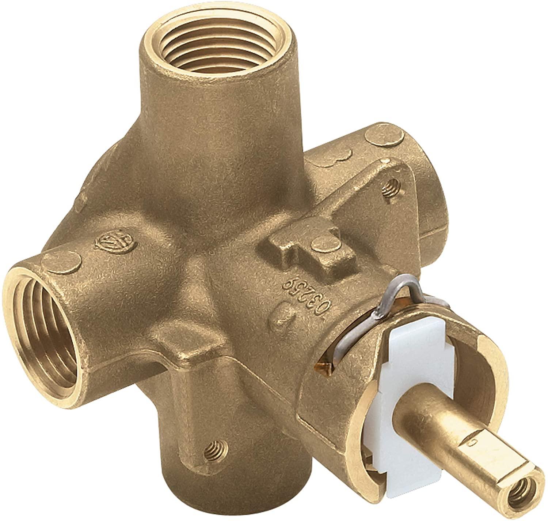 Moen's Brass Posi-Temp Pressure Balancing Tub and Shower Valve