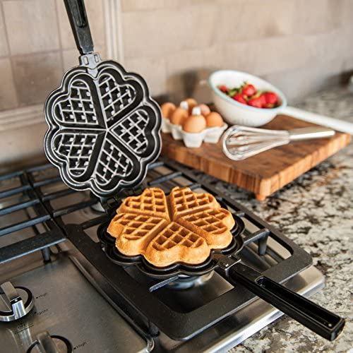 Nordic Ware's sweetheart waffler for stovetops