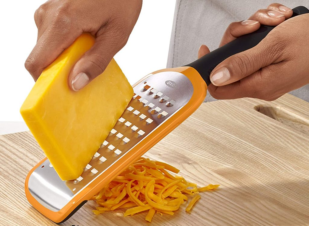 OXO Good Grips' etched coarse handheld grater