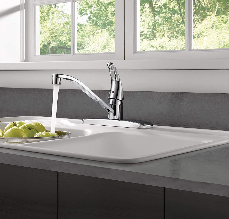 Peerless' Single Handle Kitchen Sink Faucet