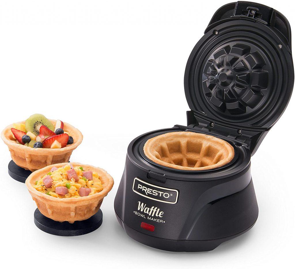Presto's Belgian Waffle Bowl Maker