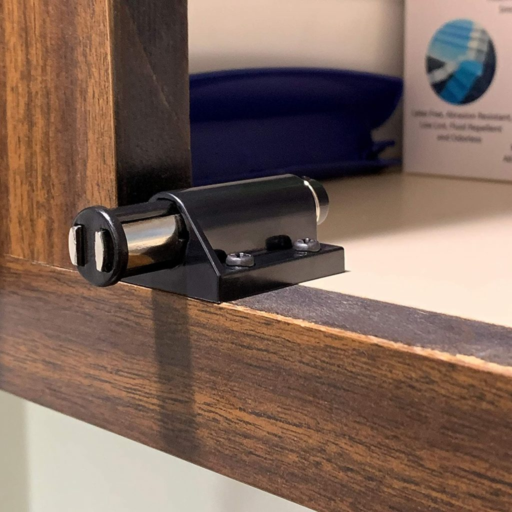 Rok Hardware's Magnetic Touch Latch, Black