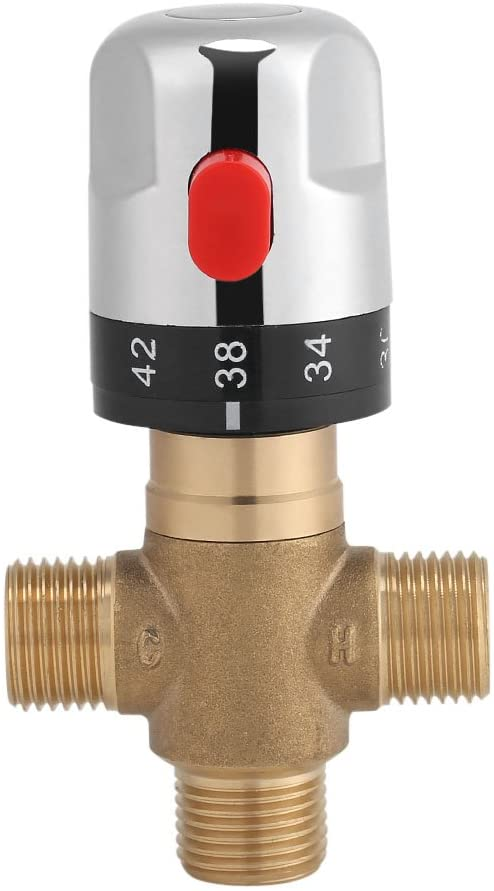 Zerodis' Thermostatic Mixing Valve in Solid Brass