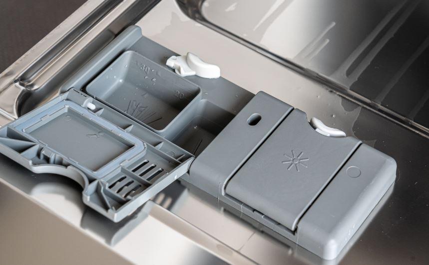 dishwasher detergent dispenser