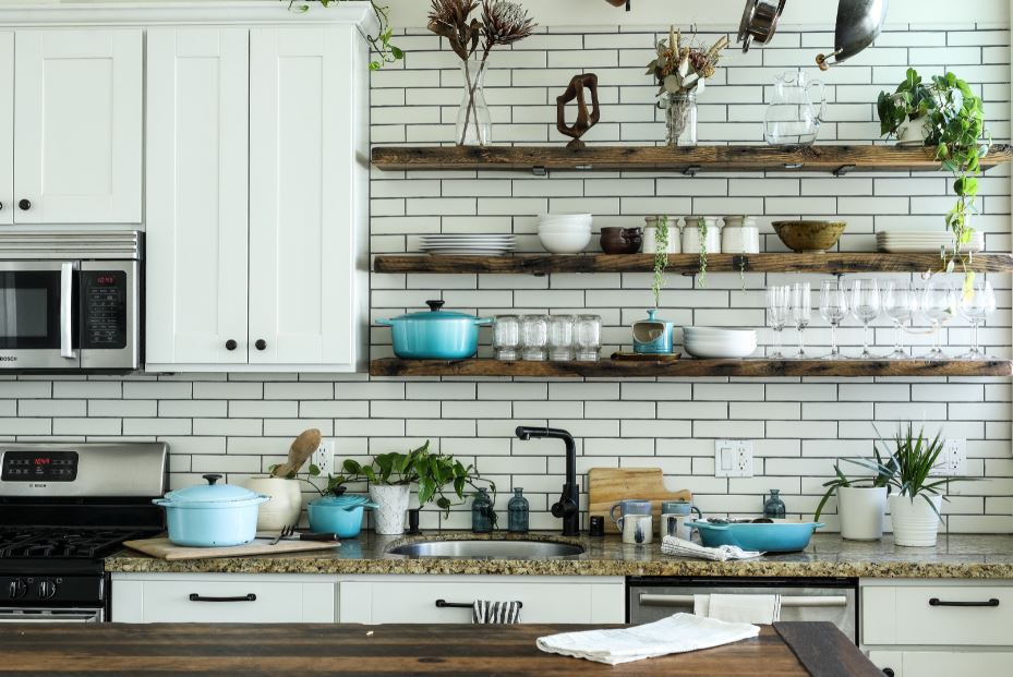 goldenwarm's Round Black Kitchen Cabinet Knobs